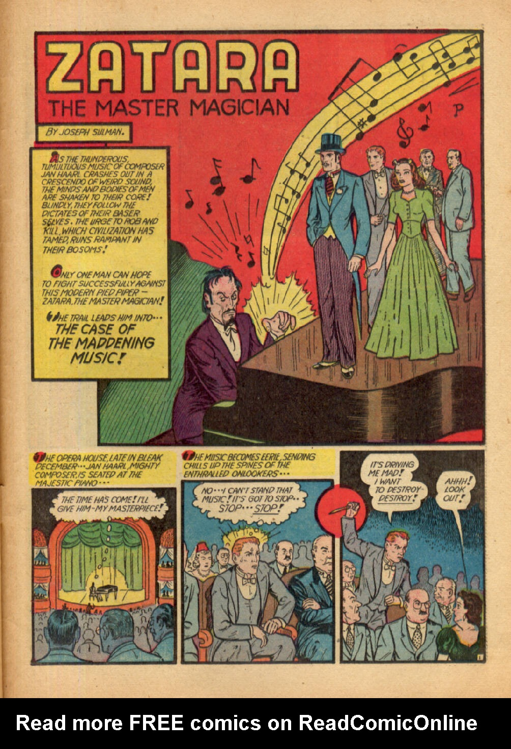 Read online Action Comics (1938) comic -  Issue #48 - 57