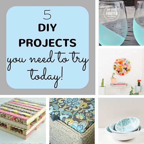 5 DIY projects you need to try today, keeping it real