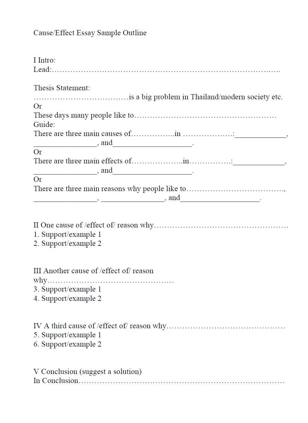 Narrative Essay Worksheet