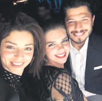 Pelin Karahan cu sotul ei, Bedri Guntay și Merve Boluğur