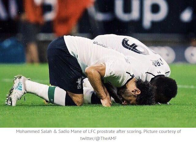 Mohamed Salah Jelaskan Makna Sujud Usai Selebrasi Gol
