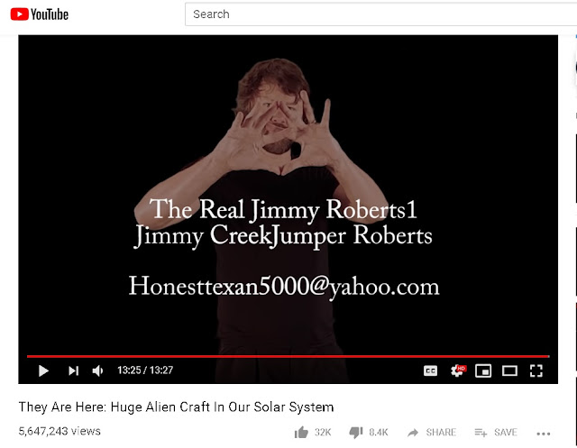 Jimmy Roberts conspiracist