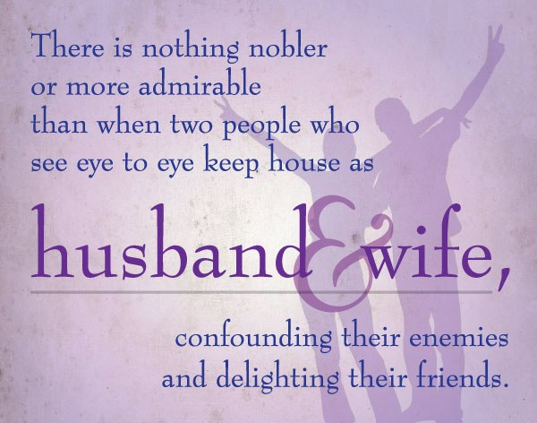 husband and wives relationship quotes
