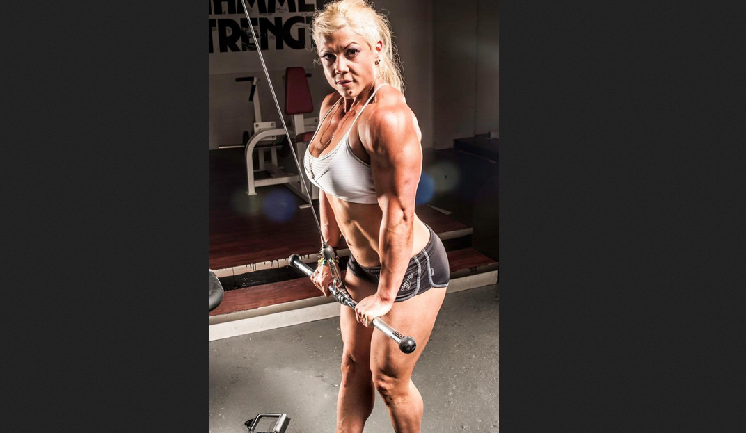 Christi Wolf is an American bodybuilder.