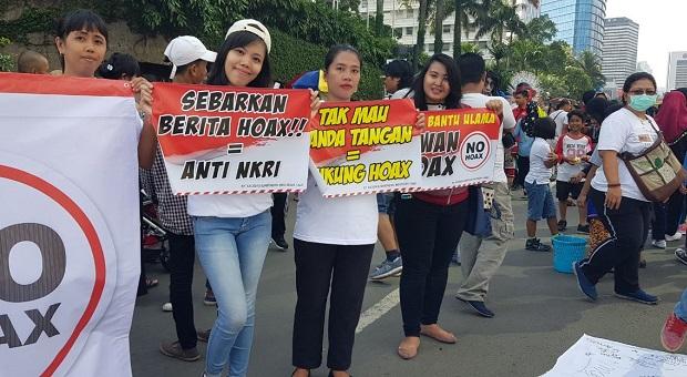 Jurnalis Ikut Ajak Warga Lawan Berita Hoax