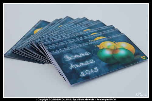 cartes postales pour l'Office Municipal du Sport et de la Culture de la ville de Donchery Champagne Ardenne