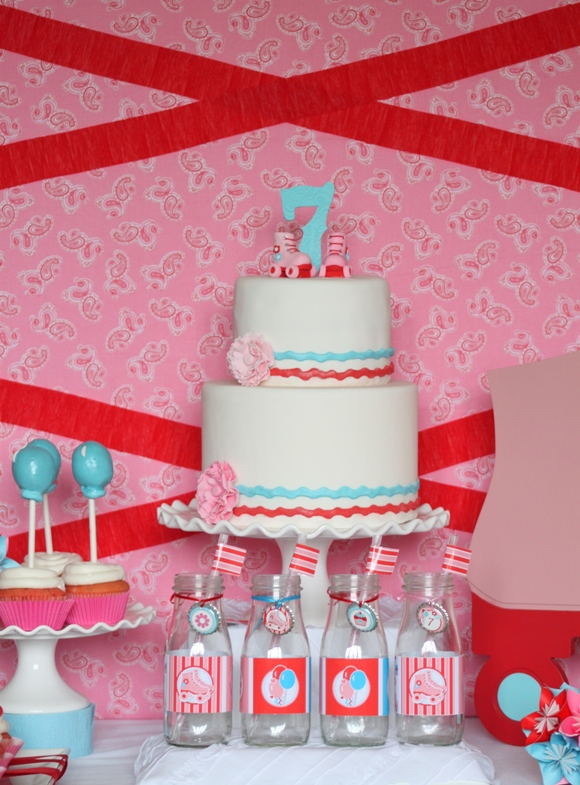 Roller Skating Birthday Party - Party Ideas | Party ...