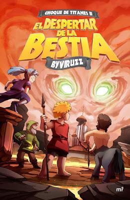 CHOQUE DE TITANES #2 : El Despertar de la Bestia. ByViruzz (4 Abril 2017) | YOUTUBER PORTADA LIBRO