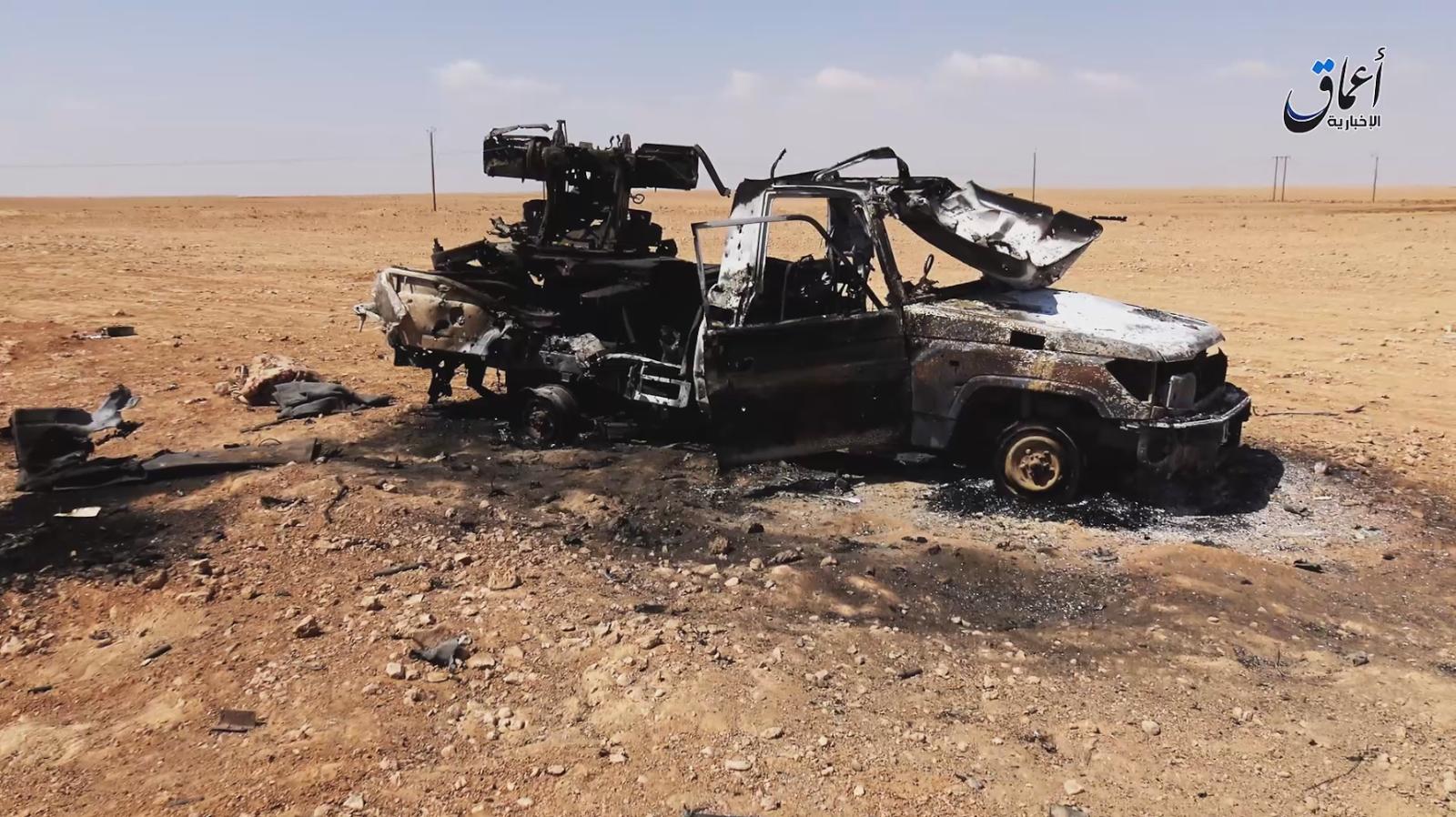 véhicules détruits 439