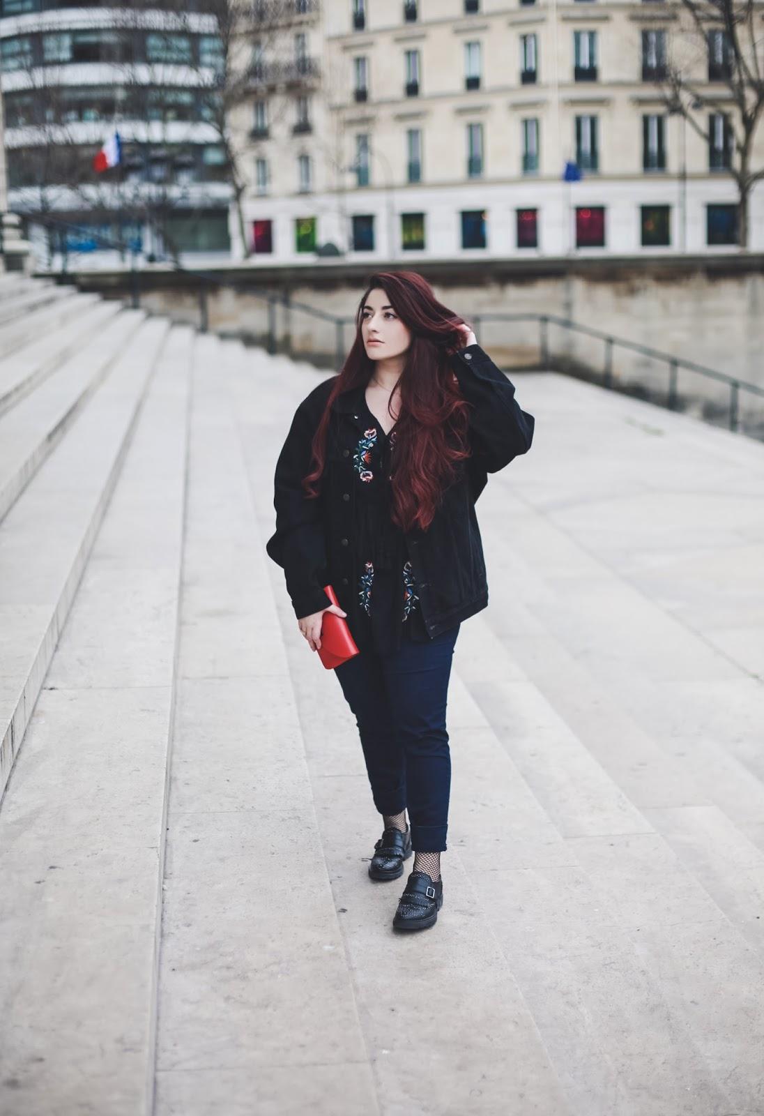 chaussettes résilles blog mode