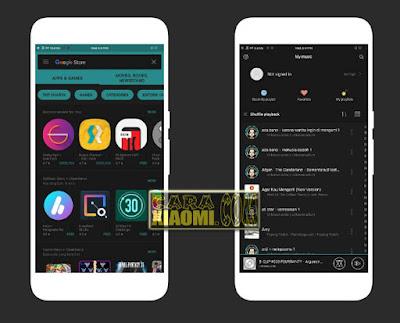 Download Link Theme Glow in The Dark Mtz For Xiaomi v1.0 Terbaru