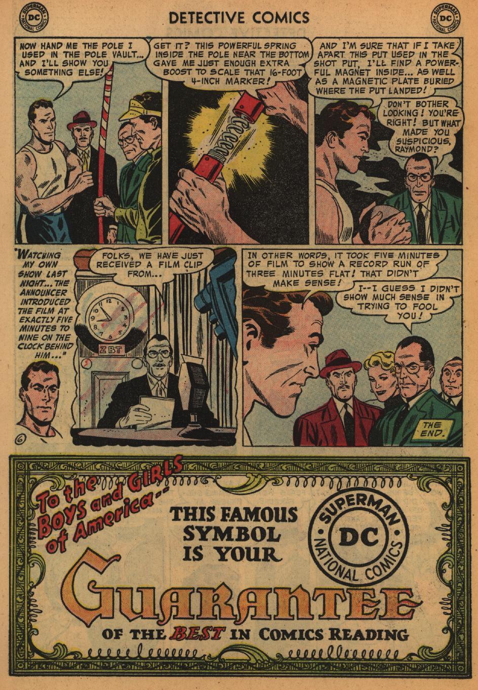 Read online Detective Comics (1937) comic -  Issue #226 - 22
