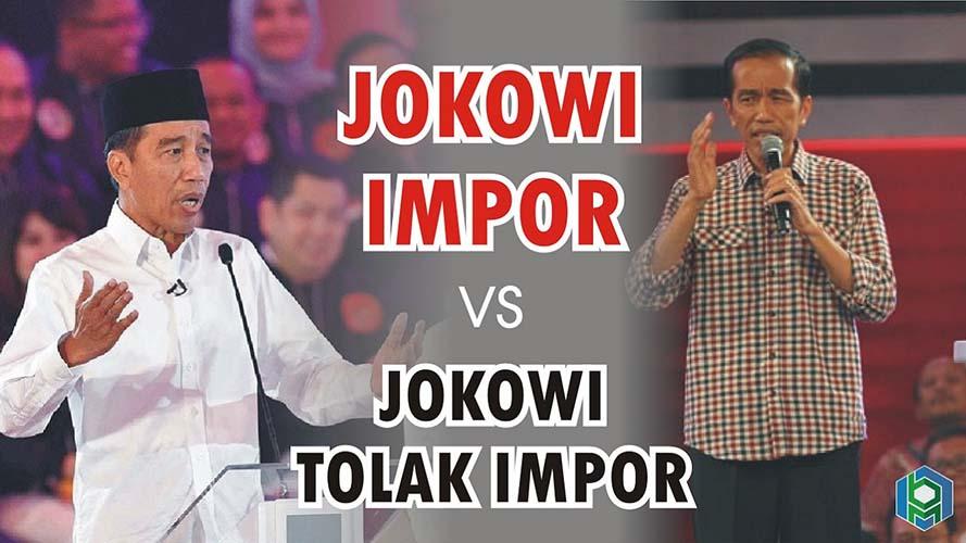 Jokowi impor