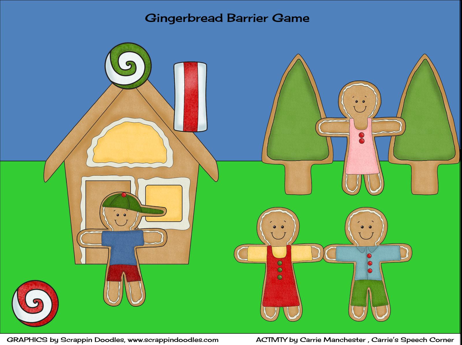 Carrie S Speech Corner Gingerbread Speech And Language Unit