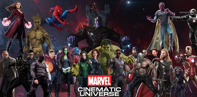 Listă cu filme din Universul Cinematic Marvel