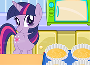 Twilight Sparkle Cooking Cupcakes juego