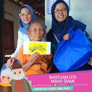 Mbah Samini : Bantuan OTS