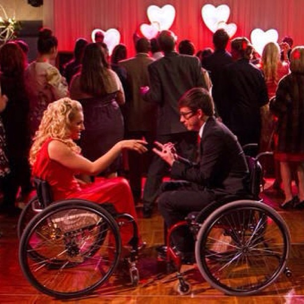 Glee wheelchair sex