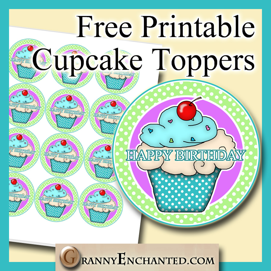 Punchy Printable Cake Toppers Mason Website