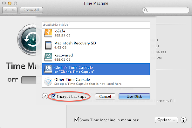 Use Airport Time Capsule Drive As a Backup Destination