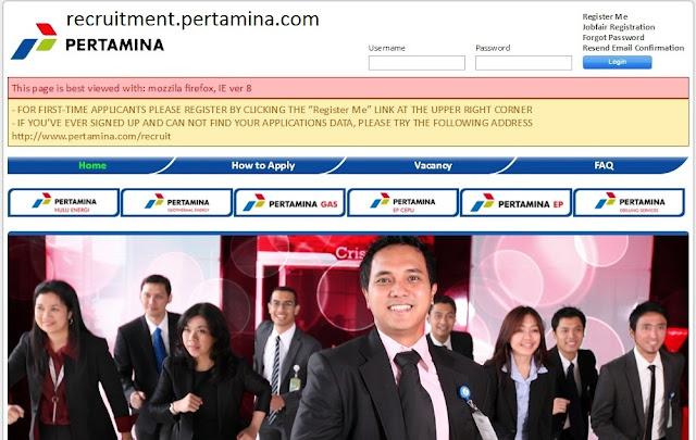 recruitment.pertamina.com