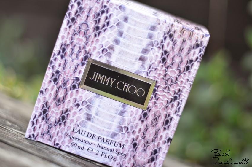 Jimmy Choo Eau de Parfum Verpackung nah