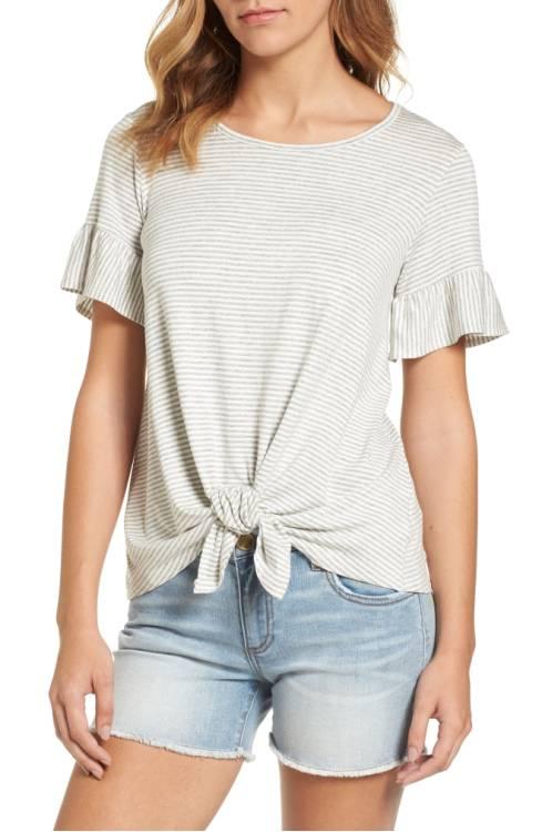 Bobeau Bell Sleeve shirt