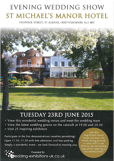 St Michael's Manor Wedding Fair Flyer