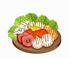 legumes, verduras e frutas