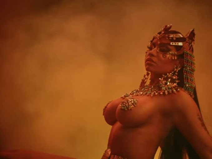 Nicki Minaj Still from Ganja Burn Album #NickiMinaj