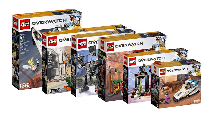 lego overwatch six sets announced