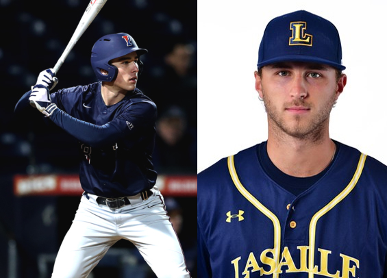 Craig Larsen and Connor Hinchliffe earn Freshman and Reliever honors