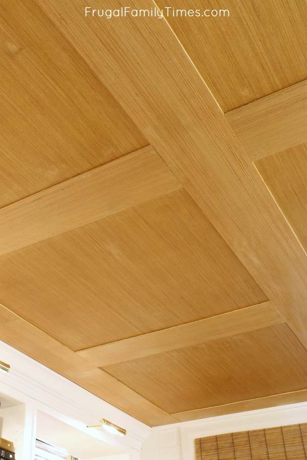 plywood ceiling diy