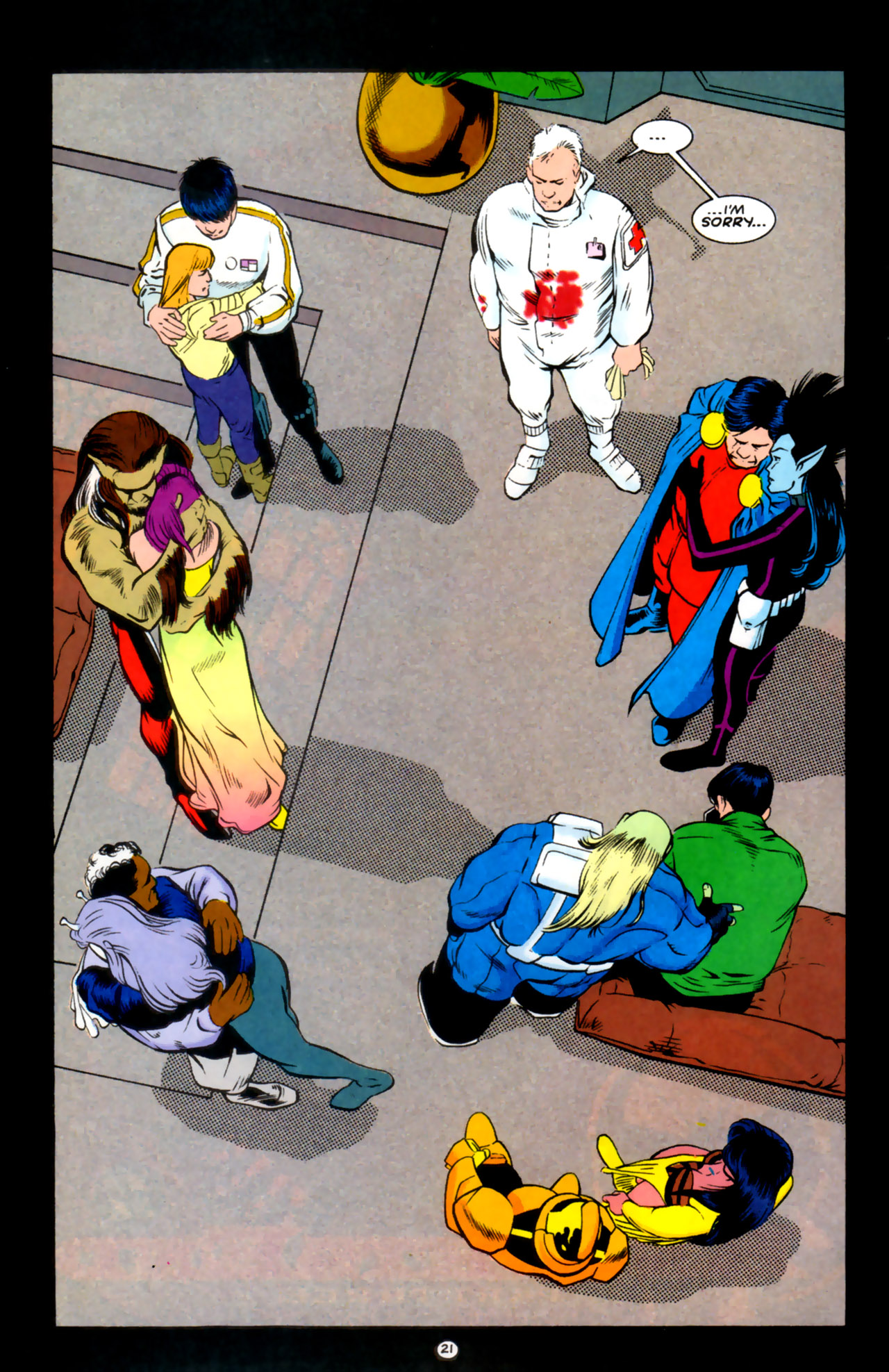 Legion of Super-Heroes (1989) 59 Page 21