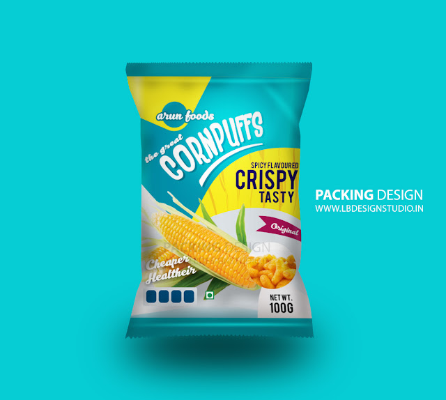 ArunaFoods Packing Design | Best Graphic Designer Trichy