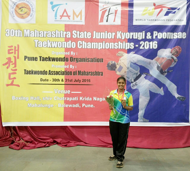 Students from Somaiya Vidyavihar, amassed a huge medal tally in the recently concluded 30th Maharashtra Junior State Taekwondo Competition 2016