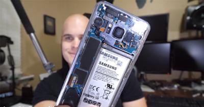 Begini Cara Membuat Samsung Galaxy S8 Dan 8+ Body Belakangnya Transparan