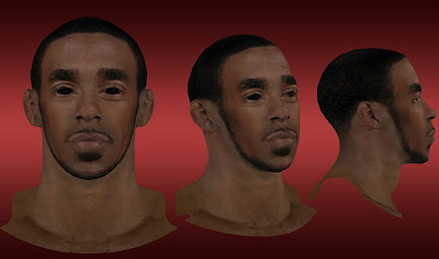 NBA 2K13 Mike Conley Cyberface Mod