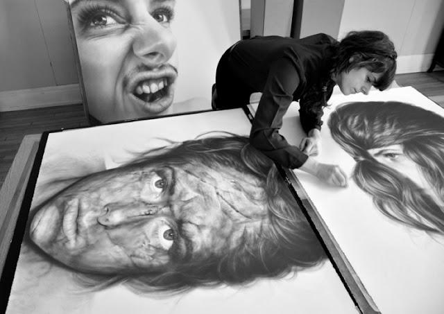 Мрачные рисунки карандашом Melissa Cooke