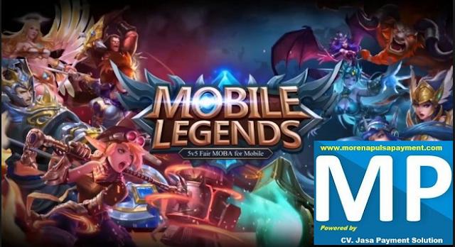 Cara Transaksi Mobile Legend Morena Pulsa