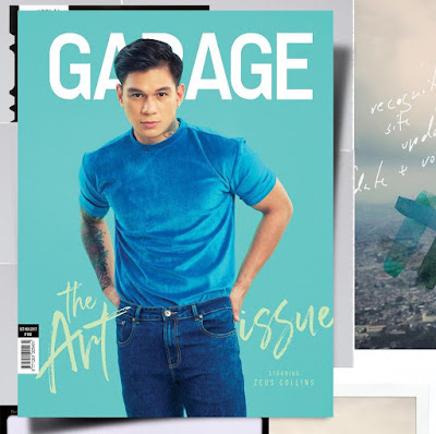 Zeus Collins graces cover of Garage magazine