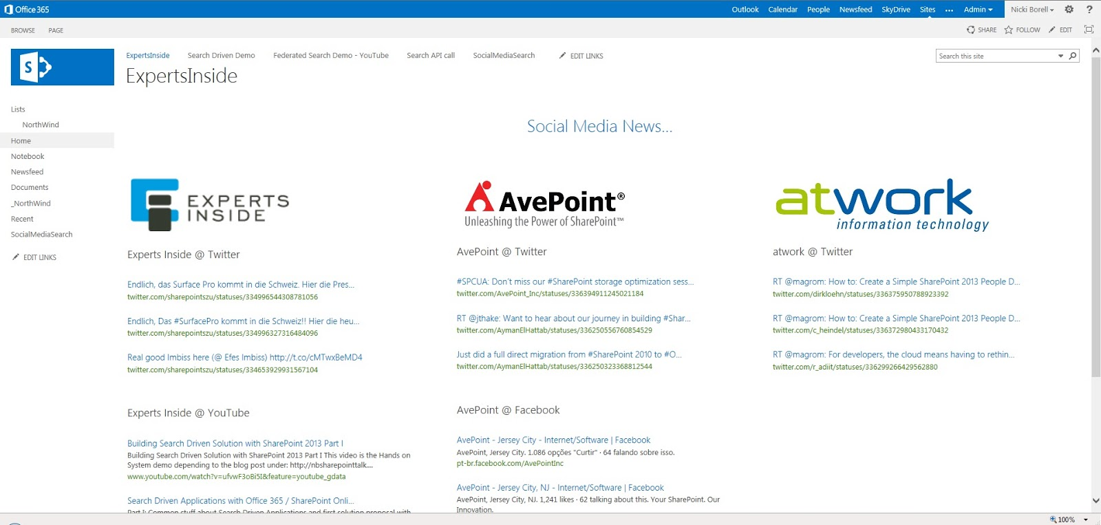 SharePoint Talk: Building Search Driven Solution with SharePoint