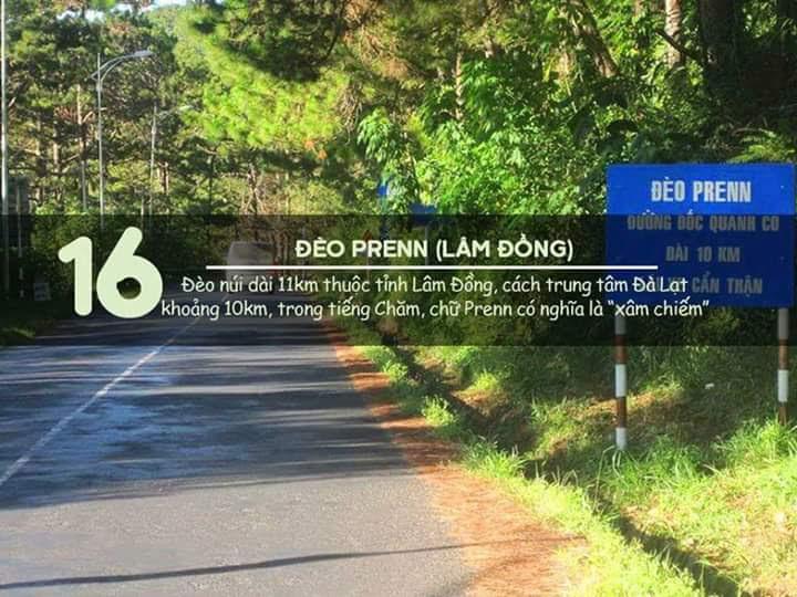 Đèo PRENN (Lâm Đồng)