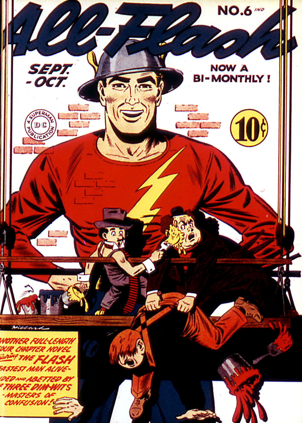 Read online All-Flash comic -  Issue #6 - 1