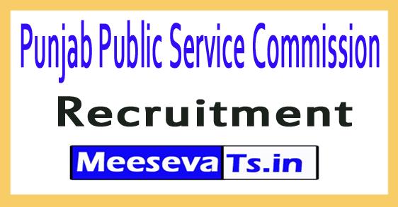 Punjab Public Service Commission PPSC Recruitment