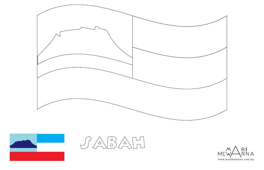 Lukisan Gambar Bendera Malaysia Untuk Mewarna Cikimm Com