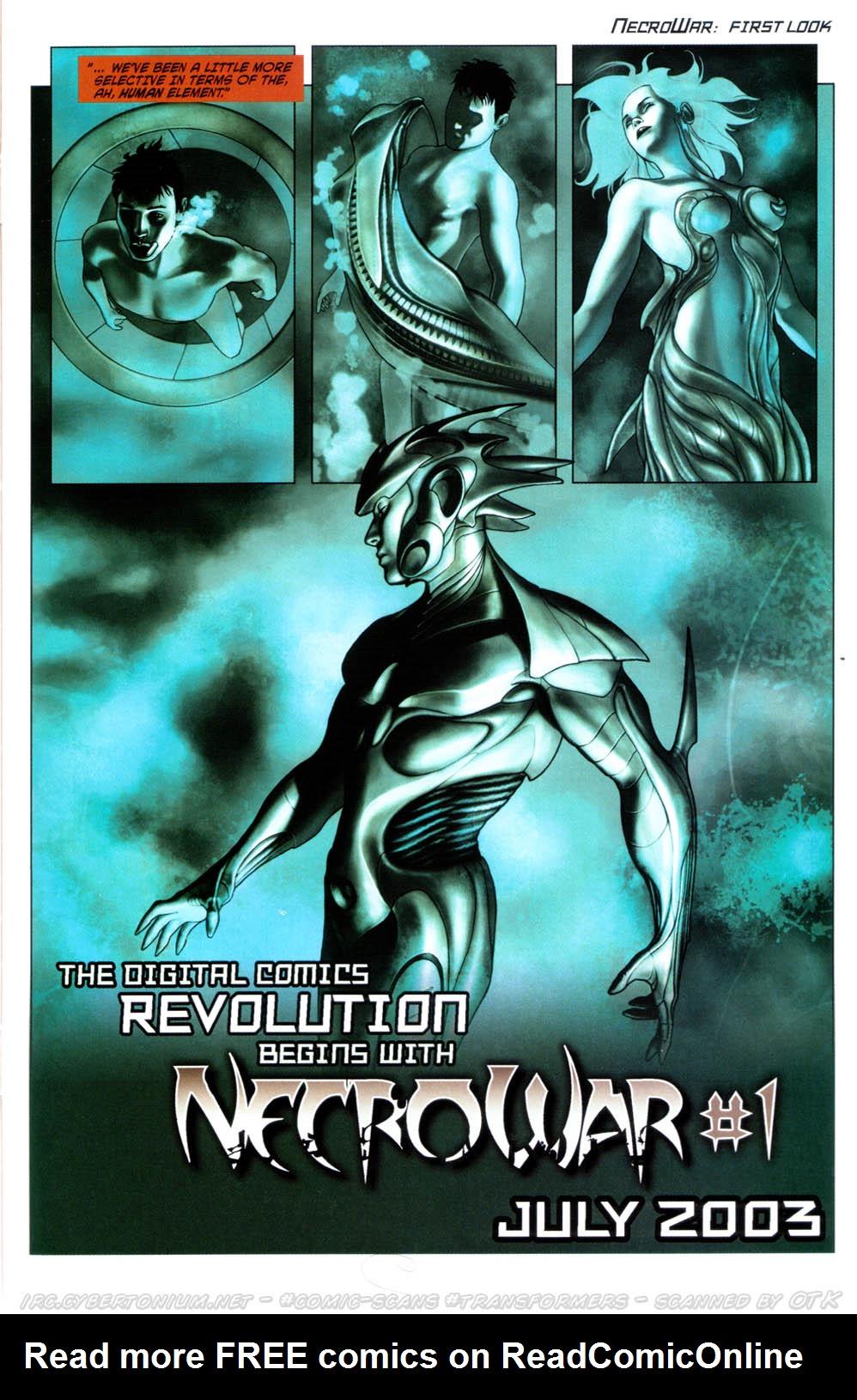 Read online Transformers Armada comic -  Issue #12 - 29