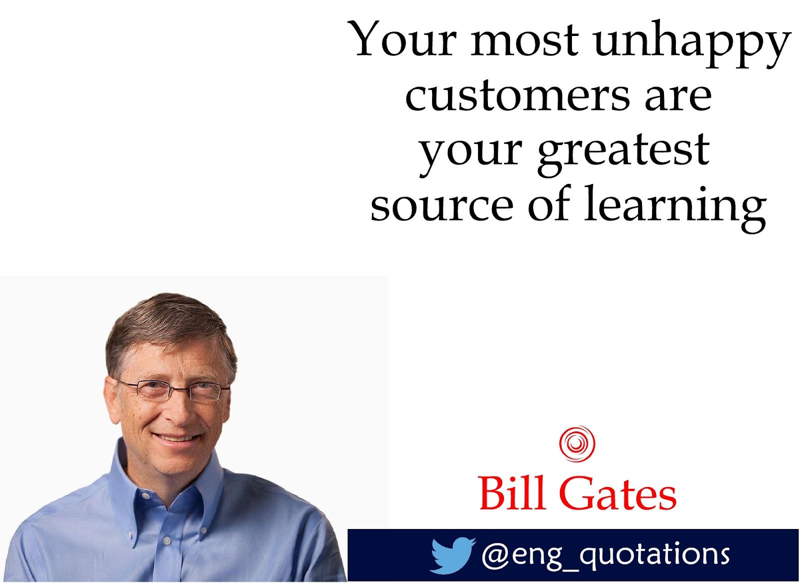 English Motivational Quotes English Motivational Quotes Bill Gates