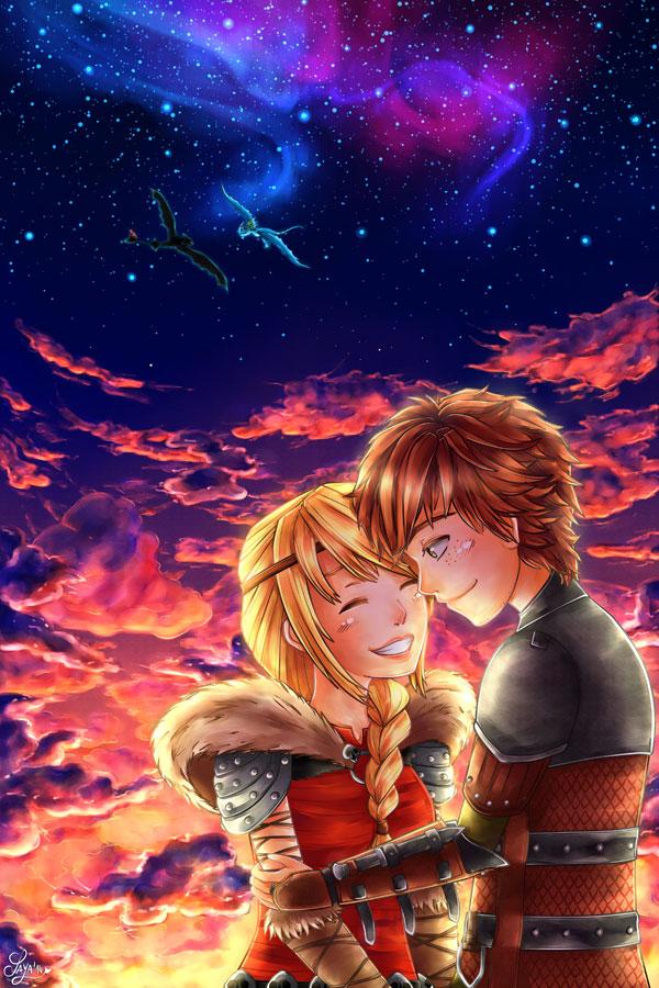 Your smile is like the sunset - Ton sourire est comme le coucher de soleil