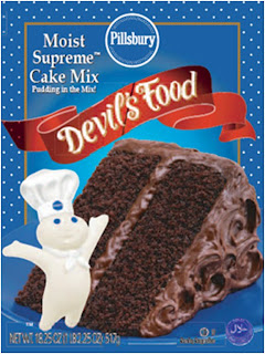 Pillsbury Devil S Food Cake Mix Brownies